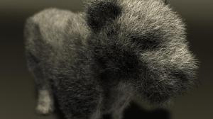 Renderman Fur + DOF